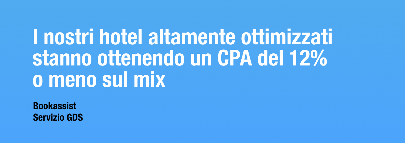 GDS CPA of 12%