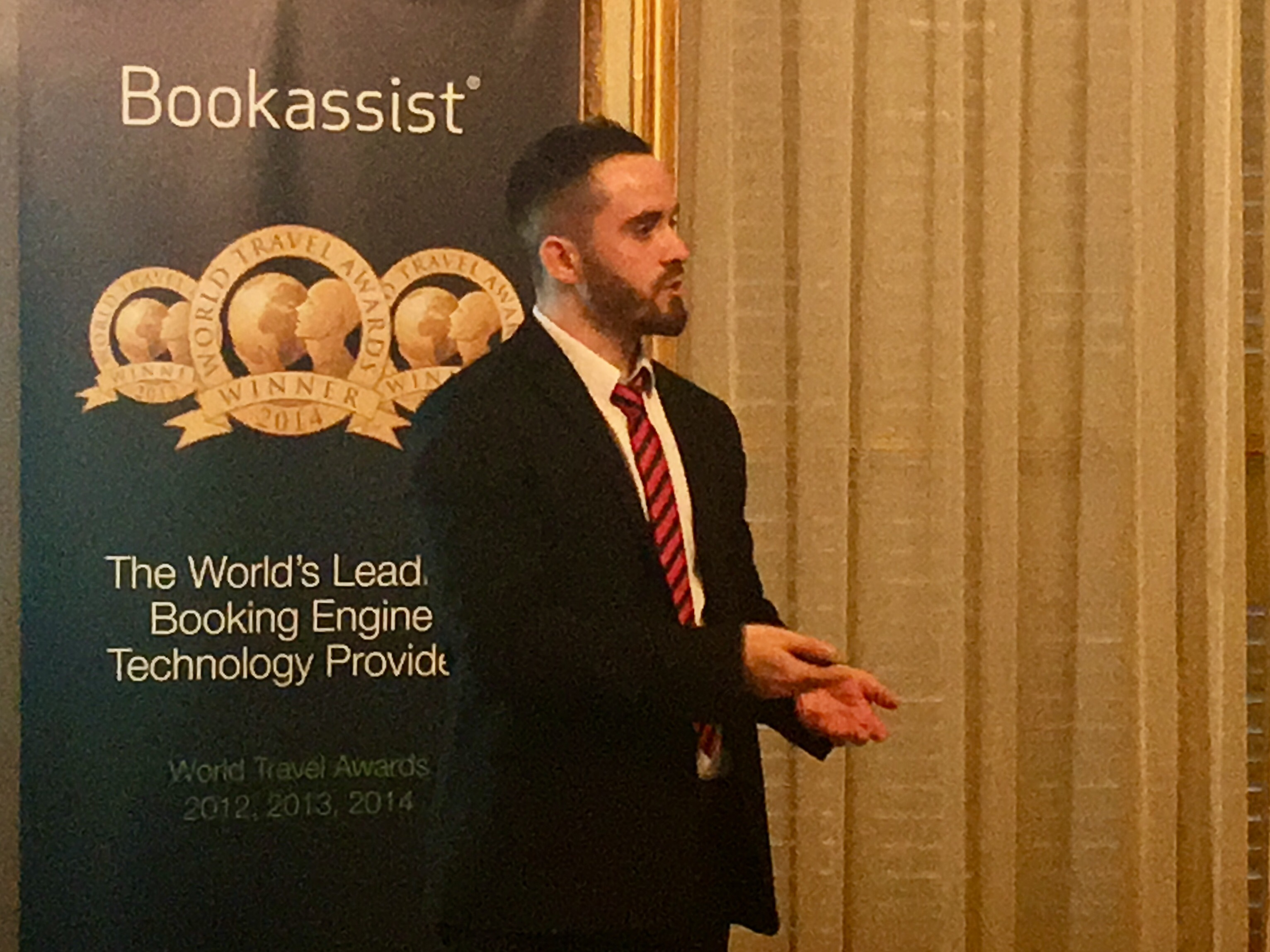 Bookassist's Stefan Pinheiro With presents on search optimisation