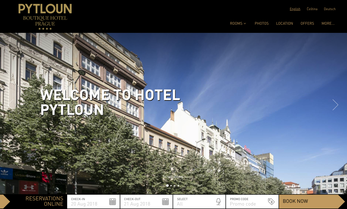 Pytloun Boutique Hotel Prague