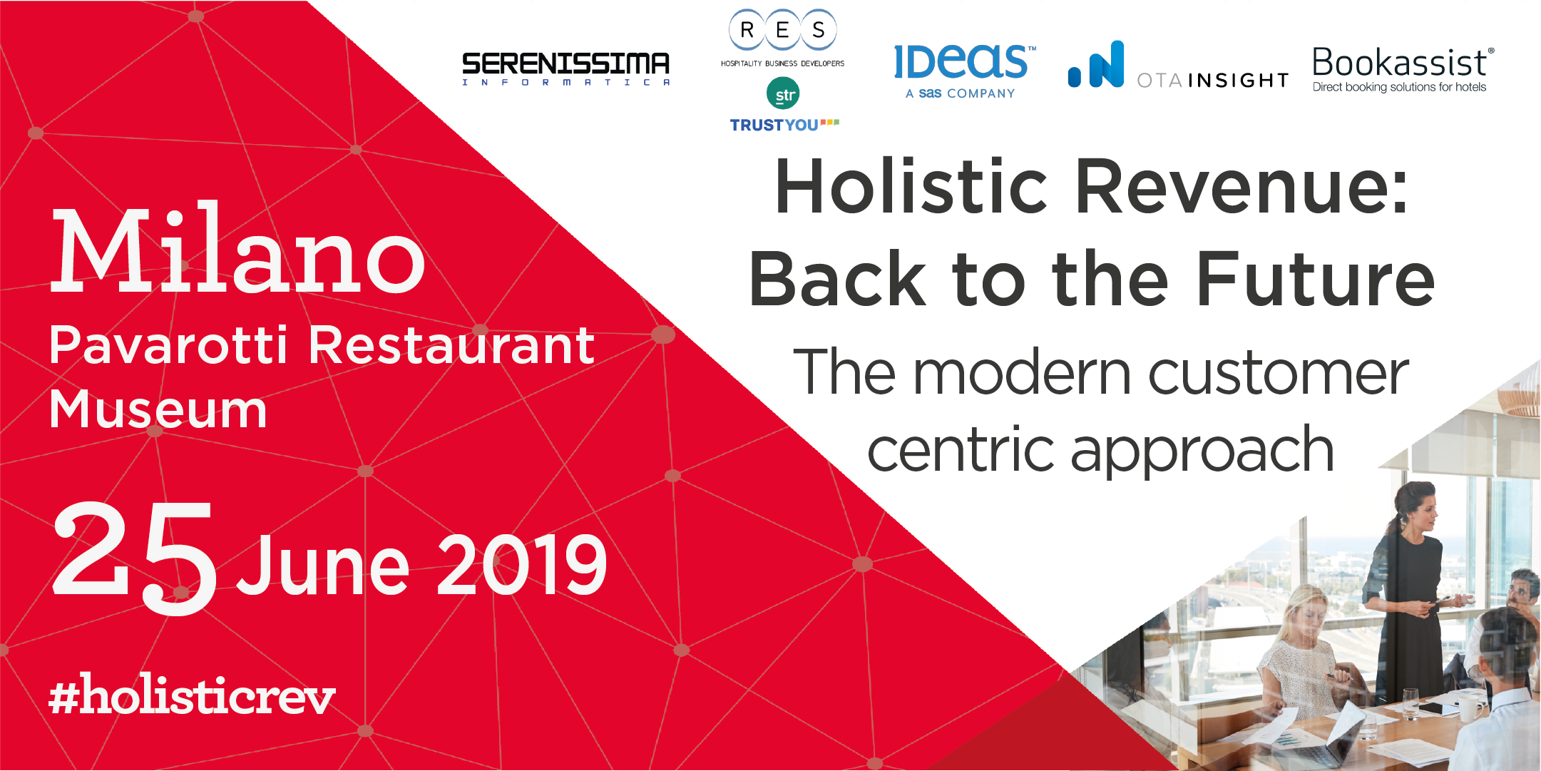Roadshow 2019 > Holistic Revenue: Back to the Future! (MI)