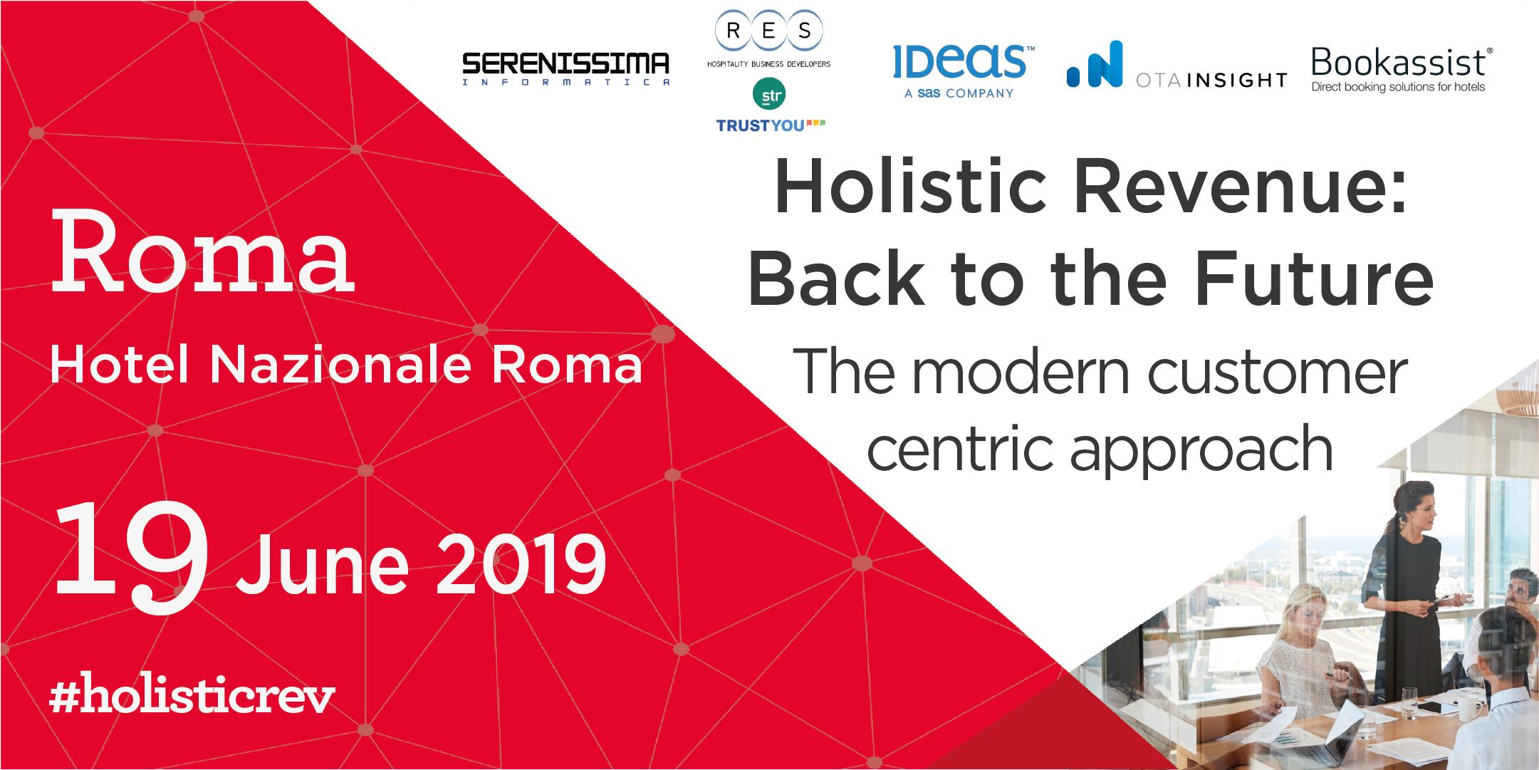 Roadshow 2019 > Holistic Revenue: Back to the Future! (RM)