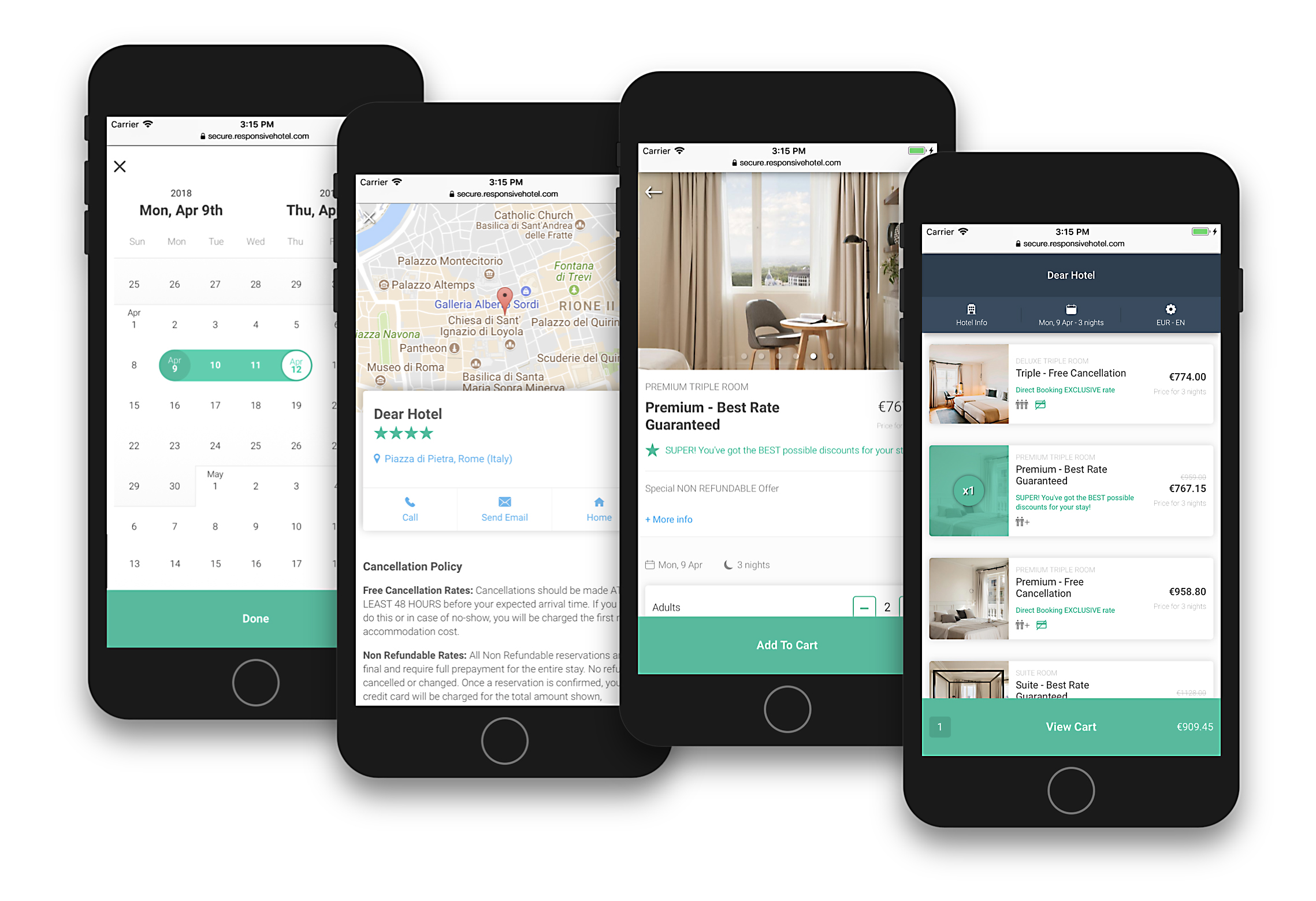 Bookassist's V10 Mobile Booking Platform