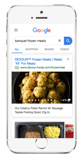 Googlel gallery ads