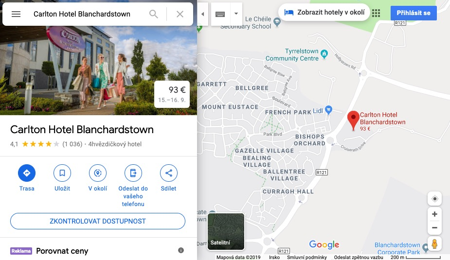google my business preview on google maps