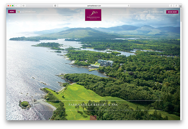 Parknasilla Resort Website